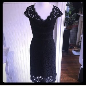 NWOT-Adrianna Papell lace cap sleeve dress, size 6